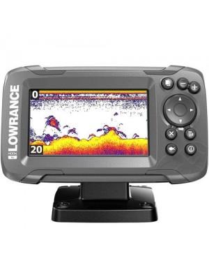 Lowrance hook 2x4 GPS transducer